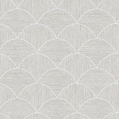 Scott Living 30.75-sq ft Neutral Vinyl Textured Geometric 3D Self-Adhesive Peel and Stick Wallpaper in Gray | SLW3703