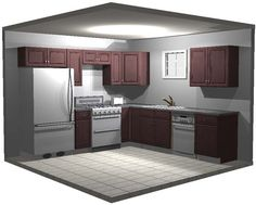 Standard 10x10 Kitchen Design 10x10 Kitchen Design Pinterest The O 39 Jays Wood Cabinets And