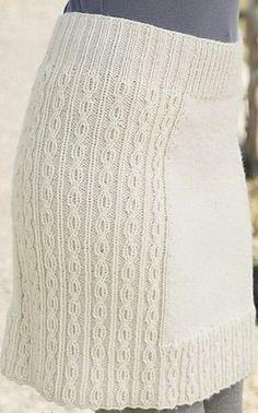 0dba3d65b faldas tejidas en dos agujas