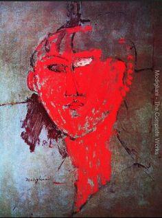 The red head | Amedeo Modigliani