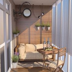 What if Decorate a Balcony in the Loft Style? Balcony Flooring, Balcony Flowers, Balcony Furniture, Balcony Design, Swinging Chair, Loft Style, Creative People, Patio, Luxury