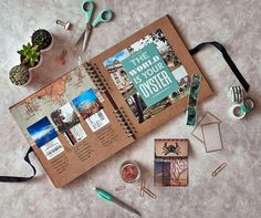 Scrapbooking, tanti lavori creativi e originali - Scrapbooking creativo #ScrapbookArt