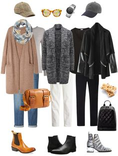 Mom on the Go Ensemble: Cardigan, Jeans & Booties - YLF
