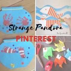 Pandora Strange world: Travail avec des MS sur le thème Poisson d'Avril Pandora, Les Themes, Avril