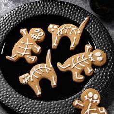 Gingerbread Skeletons Recipe from Taste of Home -- shared by Dore' Merrick Grabski of Utica, New York