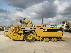 Price: $49,800  1991 CATERPILLAR PNEUMATIC ASPHALT PAVER AP-800B, ONLY 1221 ORIGINAL HOURS, GREAT WORKING CONDITION, READY TO GO Used Construction Equipment, Circuit Diagram, Repair Manuals, Caterpillar, High Quality Images, Monster Trucks, Cats, File Format, Android