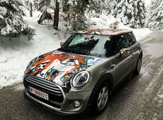"""MINI Cooper F56 - """"OXANA PRANTL Edition"""". You can order  different MINIs with my Design in MegaDenzel Vienna! Vienna, Four Square, Minis, My Design, Cars, Vehicles, Autos, Automobile, Miniatures"""
