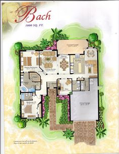 The Classical Collection Bach Floor Plan in Solivita, Kissimmee FL