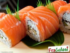 Sushi Fish: We carry a full line of sushi fish for your homemade sushi feast. Our sushi fish is frozen at sea and is the highest quality available. Sushi Fish, My Sushi, Salmon Sushi, Best Sushi, Sake Sushi, Sashimi Sushi, Sushi Lunch, Sushi Recipes, Asian Recipes