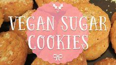 Vegan Christmas Cookies, Vegan Sugar Cookies, Simple Christmas, Vegan Recipes, Breakfast, Easy, Protein, Watch, Food