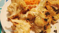 Roasted cauliflower and other clean eating, affordable and simple dinner ideas!
