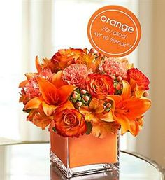 1-800-Flowers® Orange You Glad We're Friends™