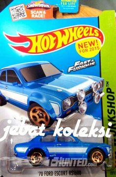 2015 Hot Wheels - Fast & Furious - '70 Ford Escort RS1600
