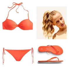 A fashion look from July 2015 featuring halter bikini tops, bikini bottom and orange shoes. Browse and shop related looks. Bikini Bottoms, Bikini Tops, Orange Shoes, Halter Bikini, Bikinis, Swimwear, Fashion Looks, Retro, Polyvore