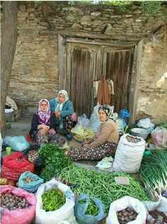 many women around the world sell produce locally Life Pictures, Nature Pictures, People Around The World, Around The Worlds, Turkey Culture, Bonsai Tree Care, Working People, Human Art, World Cultures