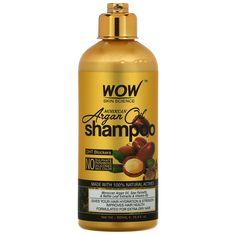 Wow Skin Science, Shampoo, Moroccan Argan Oil