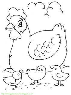 Chicken Hern Coloring Pages from Best Collection of Chicken Coloring Pages. Chicken a bird bred both for its meat and its eggs, among the most used in the alimentation. Get the chicken coloring pictures below. Zoo Animal Coloring Pages, Ocean Coloring Pages, Easter Coloring Pages, Cat Coloring Page, Coloring Pages To Print, Coloring Book Pages, Free Printable Coloring Pages, Coloring Pages For Kids, Coloring Sheets