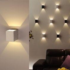 apliques de luz para techo
