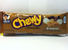 Crazy Food Dude Review: Quaker Chewy Low Fat S'mores Granola Bar