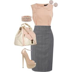 Interview outfit?? Classy yet different than traditional blazer and pencil skirt