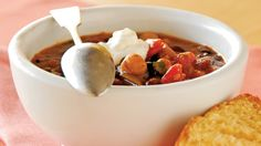 Make this quick and easy three-bean chili for dinner tonight!