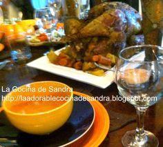 La Cocina de Sandra: COMO ASAR UN PAVO PASO A PASO