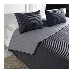 KARIT Päiväpeitto ja 2 tyynynpäällistä - 260x280/40x65 cm - IKEA