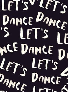 play: let's dance! #dance #words