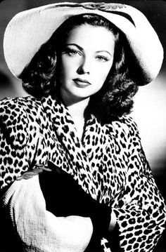Gene Tierney kissed my Dad in Danville, Il at the Wolford Hotel when he was in high school and working there as a bell boy.
