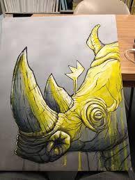rhino graffiti - Google zoeken