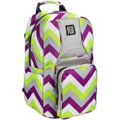 FUL Chevron Backpack ($40) ❤ liked on Polyvore featuring bags, backpacks, ful backpacks, ful bags, backpack bags, rucksack bags and chevron print backpack