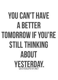 Yep...think about today.