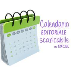 Calendario editoriale scaricabile (in excel) | Bismama