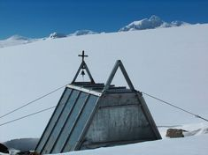 St. Ivan Rilski Chapel on Livingston Island, Antarctica is the Bulgarian church built in 1988.