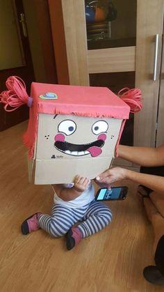 Para celebrar que ya es viernes, os dejamos con el cabezudo que ha hecho Irune con la caja de nuestros pedidos. ¿Qué os parece? ¡A nosotros nos ha encantado! :D ¡Muchas gracias por compartirlo Irune!