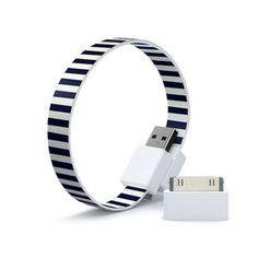 USB Cable Loop Navy Lite now featured on Fab.