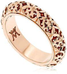 Florentine Lady Wedding Ring #ad