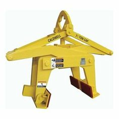 """Concrete Barrier Grab, 8500Lb by Caldwell. $4839.76. Concrete Barrier GrabsFeature auto-latch mechanism that makes operation virtually hands-free. No need to drill holes in the barriers to accommodate chains or slings. For barriers that are a width of 6"""" to 12"""" at the top. Use 5NVL8 for painted barriers. Grabs comply with ASME standardsConcrete Barrier Grab, Capacity 8500 Lbs, Concrete Barrier Width 6 In-12 In at Top of Barrier, Material Above the Bail Opening 1.75 In, ..."""