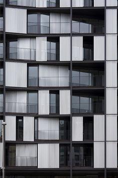 habitatges / apartments - la ria, bilbo - carlos ferrater oab - façana