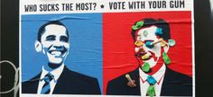 Vote with your gum ! (save the street)