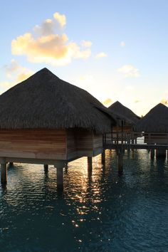 An overwater bungalow...dreamy