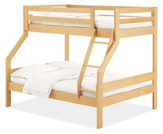 Waverly Kids' Duo Wood Bunk Bed - Modern Bunks & Lofts - Modern Kids Furniture - Room & Board