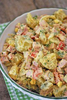 a 4694 - Salad Easy Smoothie Recipes, Healthy Salad Recipes, Healthy Snacks, Healthy Smoothie, Vegetable Recipes, Chicken Recipes, Healthy Dinners For Two, Ensalada Caprese, Rainbow Salad