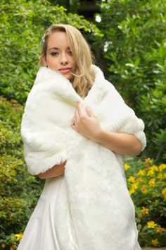 0541aef8b5e Wonderful Faux fur Wraps Fur Wrap Wedding