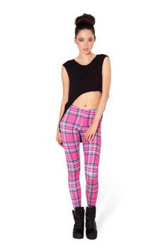 Tartan Pink Leggings
