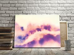 Spread a hint of romance! Modern art pink decor by FraBor Art.