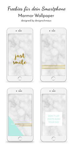 Freebie Marmor Wallpaper für dein Smartphone