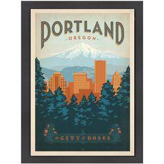 Portland Wall Art