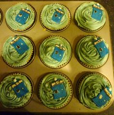 Time Vortex Cupcakes.