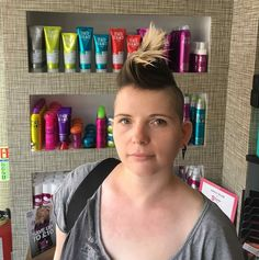 Des created this restyle at our Colchester salon using the TIGI Fully Loaded products and Bed Head Slick Trick for volume. Funky, fresh and fierce!